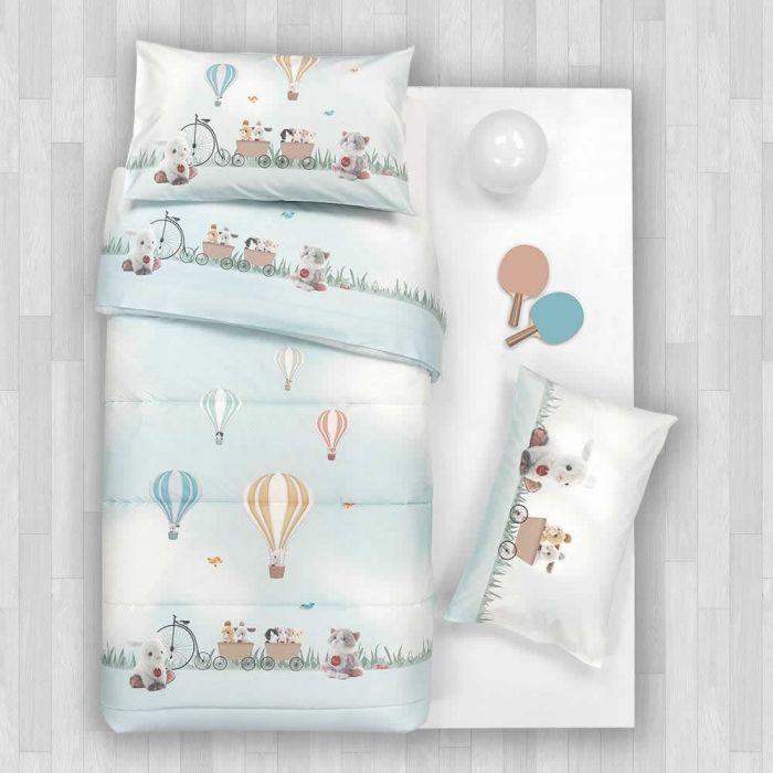 Copriletto Trapuntato Per Lettino Balloon Trudi Gabel