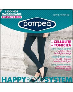 LEGGINGS MASSAGGIANTE HBS CELLULITE ZERO POMPEA