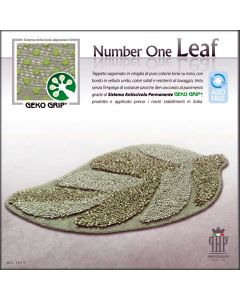TAPPETO BAGNO NUMBER ONE LEAF ANTISCIVOLO PHP