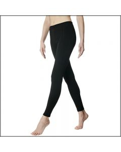 LEGGINGS CON RIGHINA GLADIOLO TINTA UNITA DONNA POMPEA