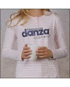PIGIAMA BAMBINA COTONE DIMENSIONE DANZA 22049
