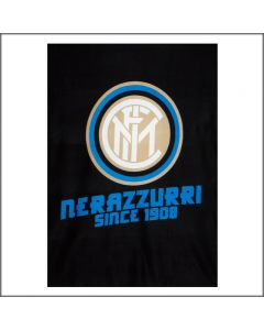 PLAID PILE 120X150 NERAZZURRI SINCE 1908 INTER F.C.