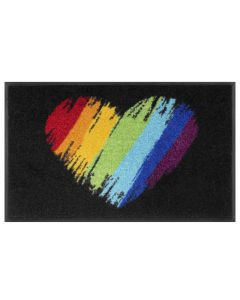 TAPPETO PRIDE HEART WASH AND DRY KLEEN TEX