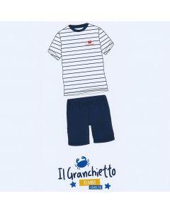 COMPLETO T-SHIRT E SHORT GP1022 BAMBINO IL GRANCHIETTO